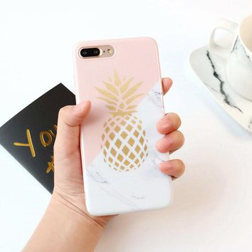 Shockproof Pattern Women Girl Soft Silicone Case Cover for iPhone 8 7 6 6s Plus