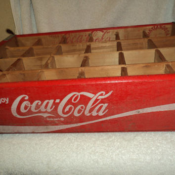 Vintage Coca Cola crate from the 1970's...FREE US SHIPPING