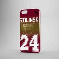 Teen Wolf Stilinski Lacrosse Jersey Case iPhone 5 Case