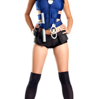 Sexy Rookie Cop Costume, Sexy Cop Costume for Women, Sexy Police Woman Costume