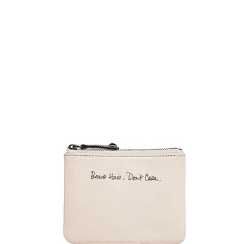 Rebecca MinkoffBeach Hair, Don't Care Betty Leather Pouch