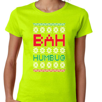 Bah Humbug christmas Womens T-shirt