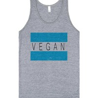 Vegan Friendly-Unisex Athletic Grey Tank