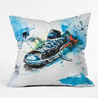 Kent Youngstrom sole mate Throw Pillow