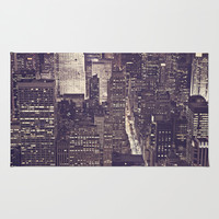 NYC Skyscrapers #2 Rug by Christina Shaffell | Society6