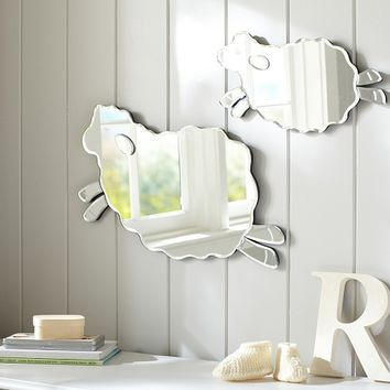 Harper Lamb Shaped Mirrors