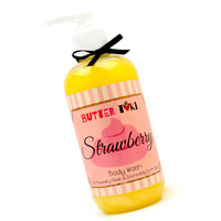 Strawberry Cake Moisturizing Body Wash 8oz