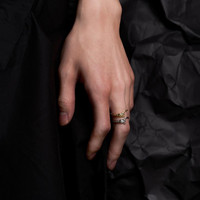 BLACKHEAD SS17 Snake Ring
