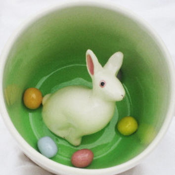 Easter Rabbit Surprise Mug