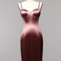 Sale* Minx Bustier Dress Mauve