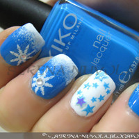 ?NuVoLa? .:. ?over the clouds?: ?·????Christmas Nail - Part 1????·?