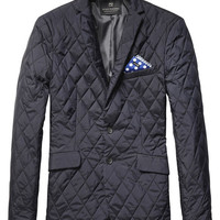 Sporty Quilted Blazer
