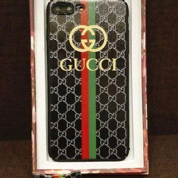 DCCKR2 Gucci  phone case shell  for iphone 6/6s,iphone 6p/iphone 6sp,iphone 7/8,iphone 7p/8p, iphonex