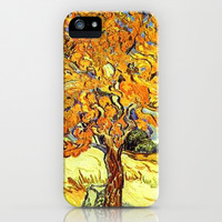The Mulberry Tree, Vincent van Gogh iPhone & iPod Case by ArtsCollection