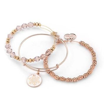 Uniquely Rose Bangle Stack