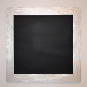 Framed Magnetic Chalkboard, Family Organization, Memo Board, Home Command Center, Magnetic Organizer, Home Decor, Creative Board, 2X2 ft