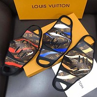 LV Masks Camouflage Louis Vuitton Print High quality comfortable breathable isolation mask