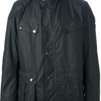 Barbour By Steve Mc Queen 'Horn' Waxed Jacket