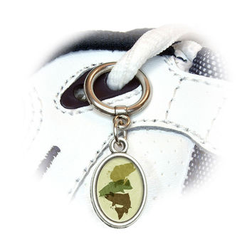 Fish Design - Fishing Bass Trout Hunting Hunter Camo Shoe Charm