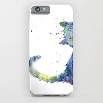 Colorful Cat iPhone & iPod Case by MIKART