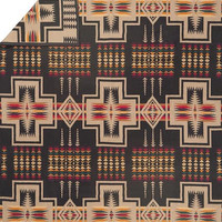 Pendleton ® Harding Blanket, Black Native American Throw Blanket