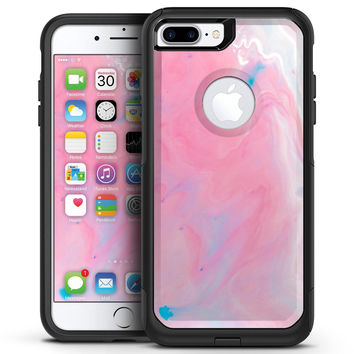 Marbleized Pink Paradise V7 - iPhone 7 or 7 Plus Commuter Case Skin Kit