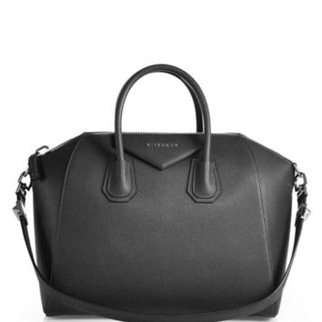 Givenchy - Antigona Small Leather Satchel