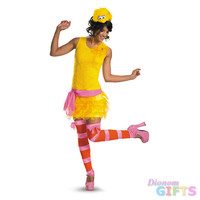 Women's Costume: Big Bird Sassy-Medium