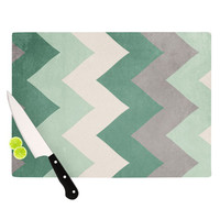 "Catherine McDonald ""Winter Green"" Cutting Board, 11.5"" x 8.25"" - Outlet Item"