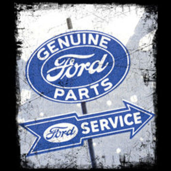 genuine ford parts service sign FORD cars pick up truck t-shirt tee shirts Licensed T-SHIRTS car trucks tee shirts