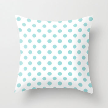 Decorative Pillows In Tiffany Blue : Best Tiffany Blue Throw Pillow Products on Wanelo