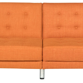 LVS2000A Upholstered Sofa Bed – Futon