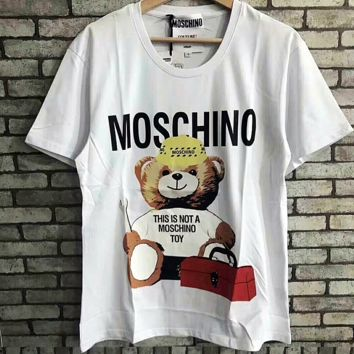 ''MOSCHINO '' Women Simple T-shirt