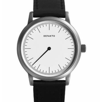 Defakto Detail White Dial Watch 4.Det-0201