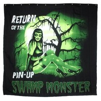 Shower Curtain - Swamp Pinup