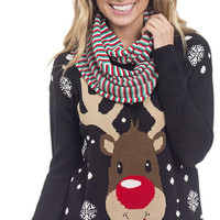 Reindeer Christmas Sweater