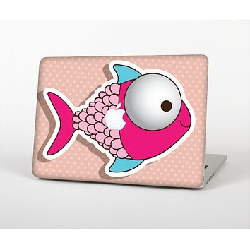 The Colorful Vector Big-Eyed Fish Skin Set for the Apple MacBook Pro 15""