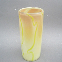 Hand Blown Tall Glass Vase One of a kind ooak