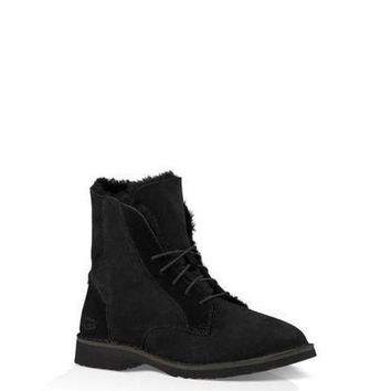 CREYNW6 Sale Ugg 1012359 Black Classic Street Quincy Boots Snow Boots
