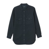 Blair denim shirt | Blouses | Monki.com