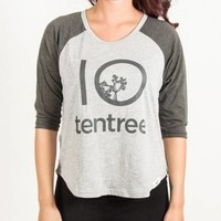 Tentree H. CONGO 3/4 BASEBALL | Boathouse Stores