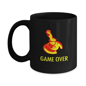 Game Over Vintage Video Game Controller Coffee Mug