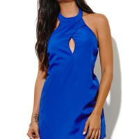 Keepsake One More Night Dress - Womens Dress - Blue