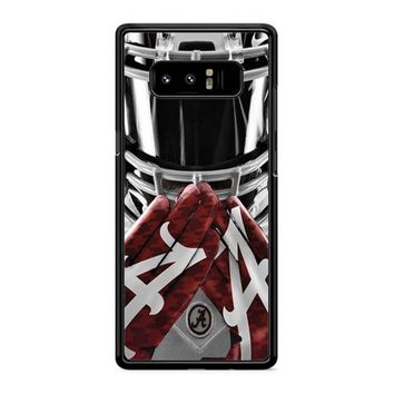 Alabama Crimson Tide Ncaa Football 5 Samsung Galaxy Note 8 Case