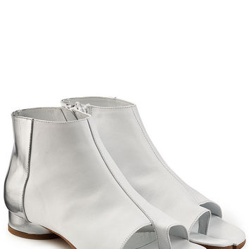 Leather Sandals - Maison Margiela | WOMEN | US STYLEBOP.COM