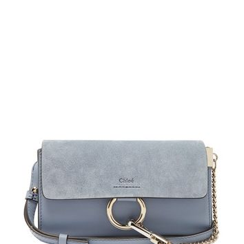 Faye small suede and leather cross-body bag | Chloé | MATCHESFASHION.COM US