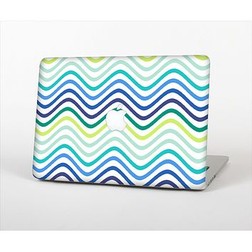 "The Vibrant Fun Colored Pattern Swirls Skin Set for the Apple MacBook Pro 13"" with Retina Display"