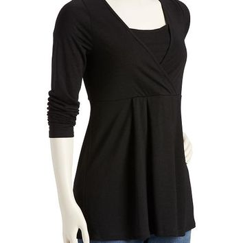 Old Navy Maternity Cross Front Nursing Tee