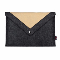 new 11,13,15 inch Wool Felt Hand Hold Inner Notebook Laptop Sleeve Bag Case Carrying Handle Bag For Macbook Air/Pro/Retina