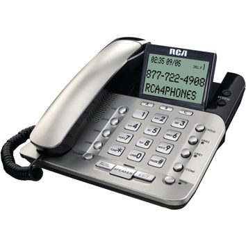 Rca 2-line Corded Desktop Phone With Caller Id
